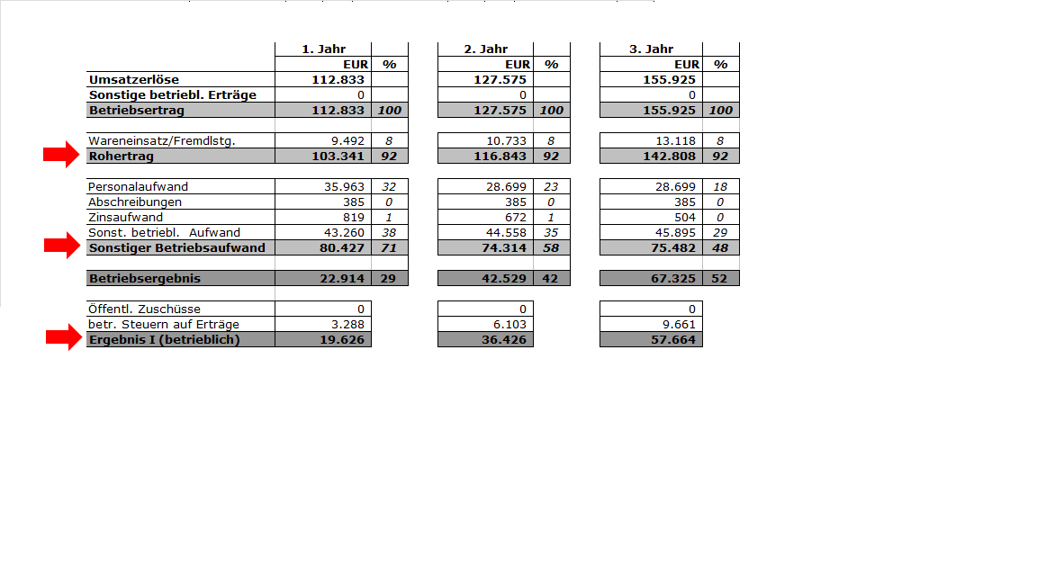 Finanzplanung - Zusammenhang Gewinn- und Verlustrechnung (GuV) und ...